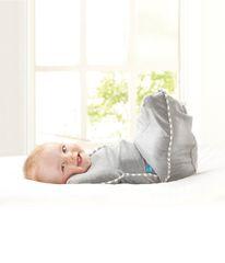 LOVE TO DREAM - Rychlozavinovačka Swaddle Up Original, Grey 6 - 8,5 kg