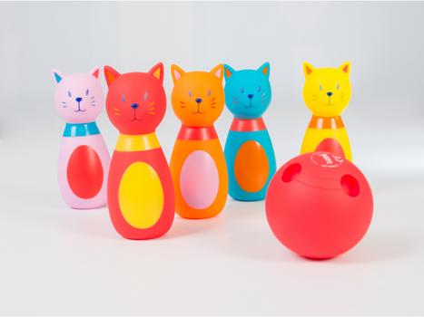 LUDI - Bowling pro nejmenší Kočka