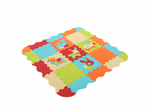 Puzzle pěnové 120x120 cm Zvířátka