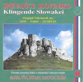 Ľudové piesne Východné Slovensko- Spievajúce Slovensko 3 - Kolektív autorov