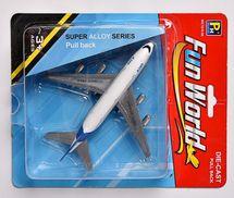 MAC TOYS - Kovové Letadlo