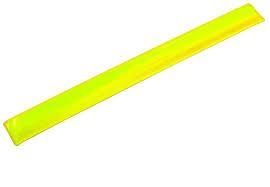 MAKRO - Proužek reflexní 30cm, žlutý
