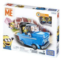 MATTEL - Mega Bloks Mimoňové Rychlé Vozidlo Asst