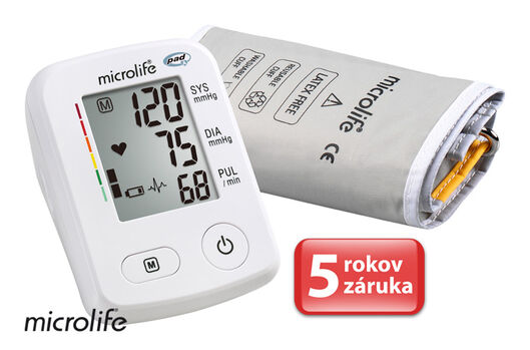 MICROLIFE - BP A2 Classic Accurate automatický tlakoměr na rameno