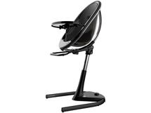 Židle Moon 2G chrom / černá