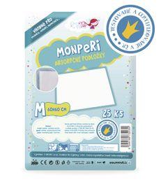 MONPERI - absorpční podložky 60x60cm, veľkosť M