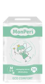MONPERI - jednorázové pleny 5-9 kg, pleny ECO comfort M
