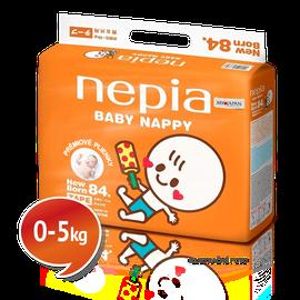 """NEPIA - Dětské pleny s páskou Tape """"NB"""" (0-5kg) 84 ks"""