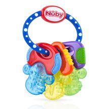 NUBY - Kousátko s chladivým gelem klíče 3m +