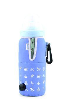 NUVITA - Cestovní ohřívač lahve se zipem, modrá