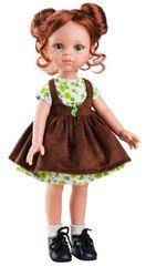 PAOLA REINA - Panenka Cristi v hnědých šatech 32cm