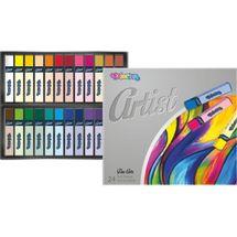 PATIO - Colorino pastele Artist suché 24 barev