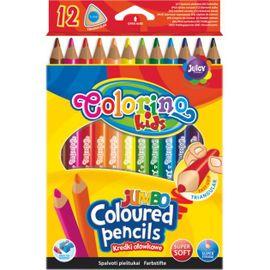 PATIO - Colorino pastelky Jumbo Trio 12 barev
