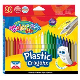 PATIO - Colorino voskovky gumovatelné 24 barev
