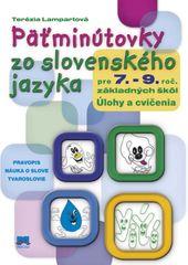 Päťminútovky zo slovenského jazyka pre 7. - 9. ročník základných škôl - Terézia Lampartová