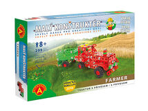 PEXI - Farmar traktor s přívěsem-malý konstruktér