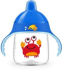 PHILIPS AVENT - Hrneček pro první doušky Premium 260 ml krab