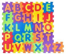 PLASTICA - Plastica Pěnové podlahové puzzle Abeceda - 52 ks