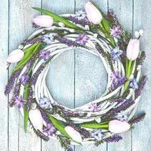 POL-MAK - Papírové ubrousky Spring Wreath