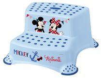 PRIMA BABY - Dvojstupínek k WC/umyvadlu Mickey a Minnie- modrá