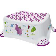 PRIMA BABY - Stupínek k umyvadlu a WC Hippo, bílá