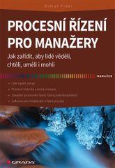 Procesní řízení pro manažery - Jak zařídit, aby lidé věděli, chtěli, uměli i mohli - Roman Fišer