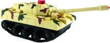 SMART KIDS - Bojový tank na dálkové ovládání se světlem a zvukem, 2 barvy