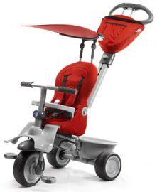 SMART TRIKE - Recliner kočárek - Red