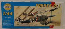 SMĚR - MODELY - Fokker Dr. 1 1:48