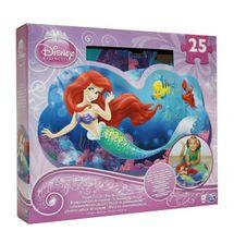 Princess Pěnové Puzzle 25Ks
