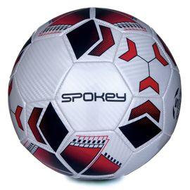 SPOKEY - AGILIT Fotbalový míč bílo-červený vel.4