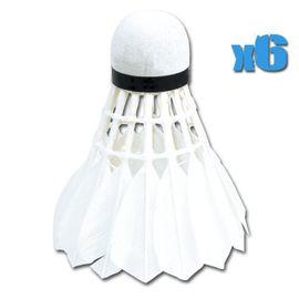 SPOKEY - AIR PRO - Míček na badminton 6 ks péřové