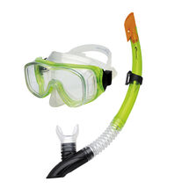 SPOKEY - CEFEUSZ - Sada brýle + šnorchl zelená
