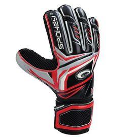 SPOKEY - CONTACT Brankářské rukavice červené č. 9