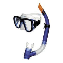 SPOKEY - CORAL Junior - Sada brýle + šnorchl modré