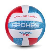 SPOKEY - FUN IV volejbalový míč modro-červený