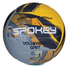 SPOKEY - GRIT Volejbalový míč šedo-žlutý č.5