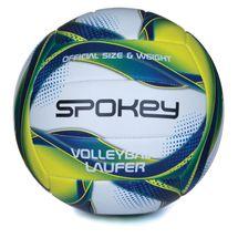 SPOKEY - LAUFER Volejbalový míč bílo-modro-žlutý rozm.5