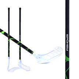 SPOKEY - MASSIG II Florbalová hokejka  L zelená