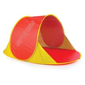 SPOKEY - NIMBUS samorozkládací plážový paravan červený