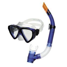 SPOKEY - QUARIUS JUNIOR - Sada brýle + šnorchl modrá