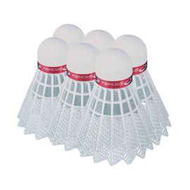 SPOKEY - SHOOT RED-Badmintonové míčky 6ks nylonové