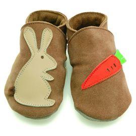 Starchild - Kožené botičky - Rabbit mrkev sand - velikost XL (18-24 měsíců)