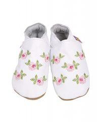 Starchild - Kožené botičky - Rosa White - velikost XL (18-24 měsíců)