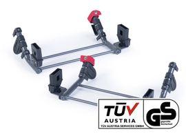 TFK - Základny pro dva adaptéry na dvě autosedačky skupiny 0 adaptér group 0 for TWA set T-006-GO-TWA-2