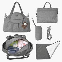 TOTS - Přebalovací taška Voyage, dark grey melange