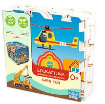 TREFL - Pěnové puzle Cars fun