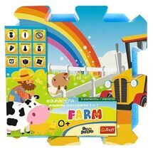 TREFL - pěnové puzzle Farma
