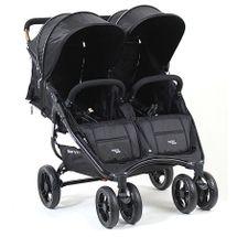 VALCO BABY - Kočárek sportovní pro dvojčata a sourozence Valco Snap Duo Black černá / černá