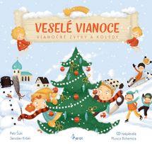 Veselé Vianoce-Vianočné zvyky a koledy s CD -  Jaroslav Krček,Šulc Petr